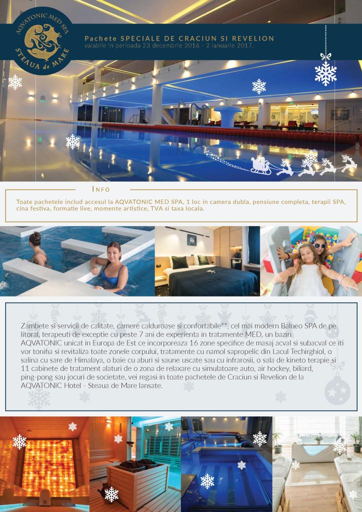 Craciun & Revelion 2017 - AQVATONIC Hotel - Steaua de Mare
