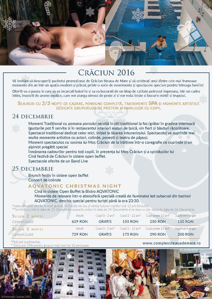 Craciun - AQVATONIC Hotel - Steaua de Mare