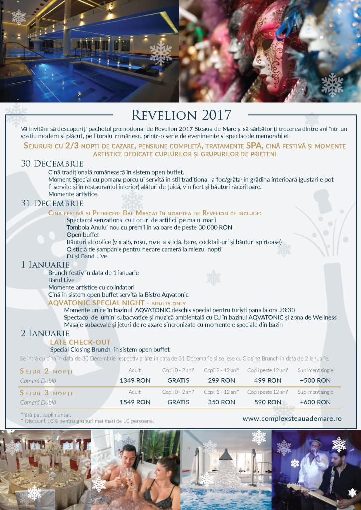 Revelion 2017 - AQVATONIC Hotel - Steaua de Mare